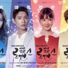 Colorful Character Posters Released For Ji Hyun Woo And Lee Si Young's Upcoming Drama