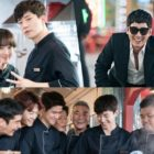 "Cast Of ""Wok Of Love"" Can't Stop Laughing On Set In New Behind-The-Scenes Stills"
