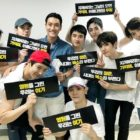 SM Artists And Other Stars Cheer On EXO At Their Concert