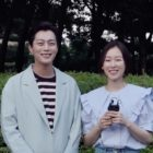 "Watch: Highlight's Yoon Doojoon And Seo Hyun Jin Tease Each Other After Reuniting For ""Let's Eat 3"" Cameo"