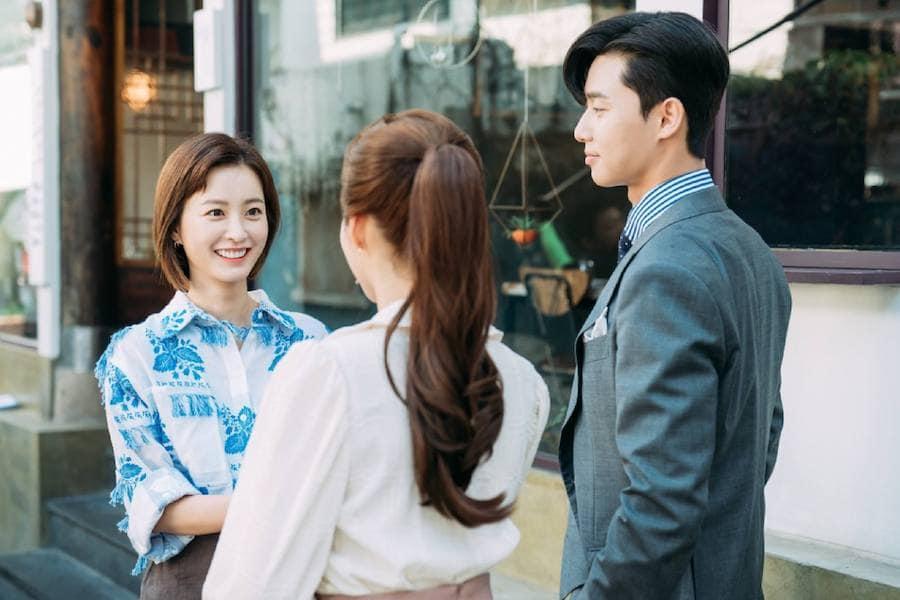 Phim tâm lý, tình cảm: Phó chủ tịch Lee có bạn gái xinh đẹp khiến thư ký Kim ghen tuông Jung-Yu-Mi