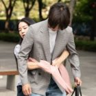 "Yang Se Jong Looks Displeased By Shin Hye Sun's Back Hug In Upcoming Drama ""30 But 17"""
