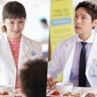 "Lee Si Young And Ji Hyun Woo Size Each Other Up In ""Risky Romance"""
