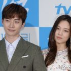 """2PM's Junho Sends Yoon So Hee Coffee Truck On """"Witch's Love"""" Set"""