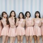 Oh My Girl Unveils Official Colors And Light Stick