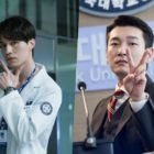 """Lee Dong Wook And Cho Seung Woo Show Off Serious And Silly Sides In New """"Life"""" Stills"""