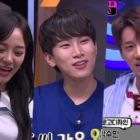 """Watch: gugudan's Kim Sejeong, BTOB's Eunkwang, And Hwang Chi Yeol Practice English In """"Unexpected Q"""" Preview"""
