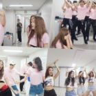 "Update: Red Velvet's ""Power Up"" Dance Becomes A Craze Backstage At SMTOWN In Fun New Videos"