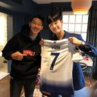 Park Seo Joon Is A Fanboy In Photo Taken With Soccer Player Son Heung Min