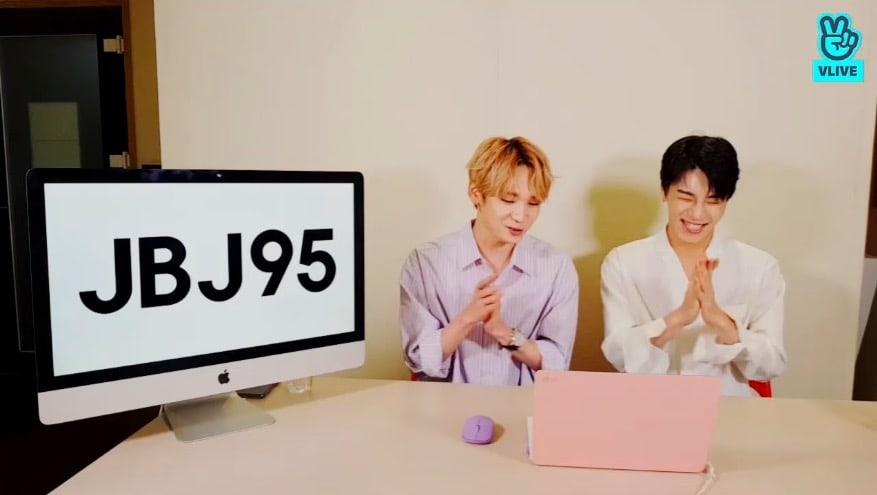 V Live Kenta dan Kim Sang Gyun