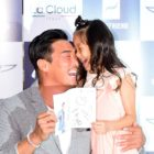 Choo Sarang Is All Grown Up At Event With Father