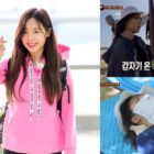 """Apink's Namjoo Taken To Local Hospital During """"Law Of The Jungle"""""""