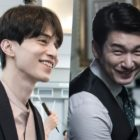 "Lee Dong Wook And Cho Seung Woo Are All Smiles In Behind-The-Scenes Photos For ""Life"""