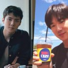 EXO's Sehun Sends Coffee Truck To Show Support For Yoo Yeon Seok