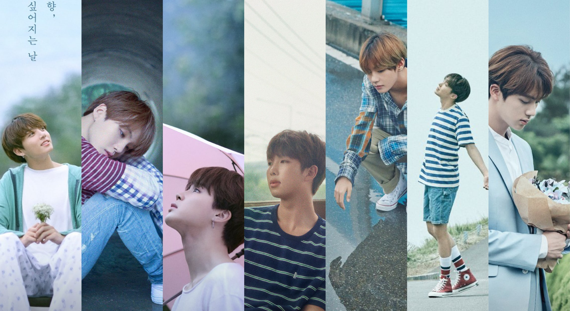 """BTS's """"Love Yourself"""" Is Now Complete: Here's A Look At The Era's"""