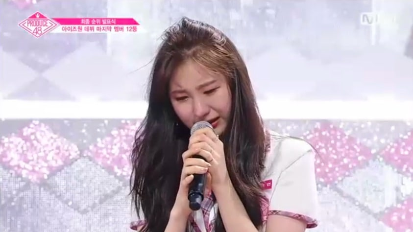 "Announcing The TOP 12 Of ""Produce 48"" – IZ*ONE 
