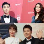 Stars Shine On The Red Carpet For 2018 Seoul International Drama Awards