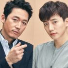 "Jang Hyuk Thanks ""Wok Of Love"" Co-Star 2PM's Junho For Coffee Truck At New Drama Set"