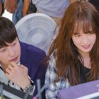 "Song Ji Hyo And Park Shi Hoo Are Hardworking Off-Camera In ""Lovely Horribly"""