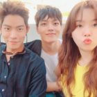 "Hong Jong Hyun, Yeo Jin Goo, And Girl's Day's Minah Are All Smiles On Set Of ""Absolute Boyfriend"""