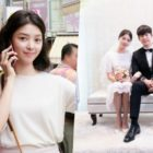 "Uhm Hyun Kyung Is Bright And Lovely Off Camera And Becomes Song Chang Eui's Bride In ""Hide And Seek"""