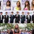 Wanna One, EXID, Jeong Sewoon, And More Shine On Red Carpet On Day 2 Of HallyuPopFest 2018