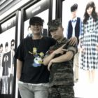 Yang Hyun Suk Proudly Shares Photos Of Akdong Musician's Lee Chan Hyuk's Gift From The Military