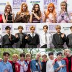 DreamCatcher, NCT 127, UNB, And More Shine On Red Carpet For HallyuPopFest 2018