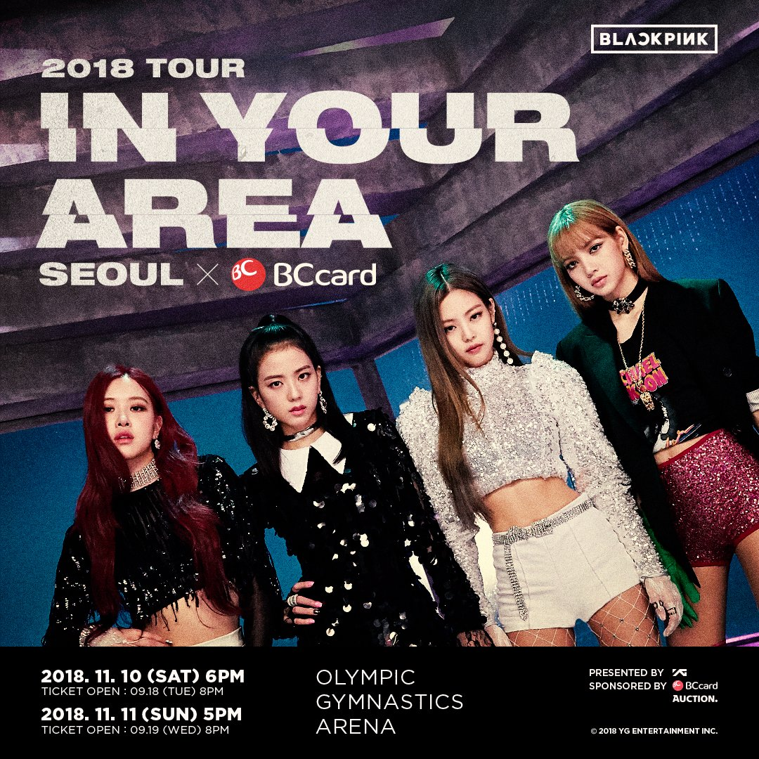 Blackpink Announces First Ever Seoul Concert For In Your Area Tour
