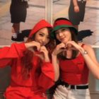 Minzy And Sandara Park Enjoy Sweet 2NE1 Reunion