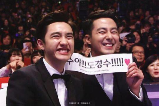 Jo In Sung dan D.O EXO