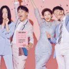 Bae Doona, Cha Tae Hyun, Lee El, And Son Seok Gu Celebrate Love And Divorce In New Drama Poster