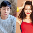 """Apink's Jung Eun Ji Shows Her Support For """"Trot Lovers"""" Co-Star Son Ho Jun And His New Drama"""