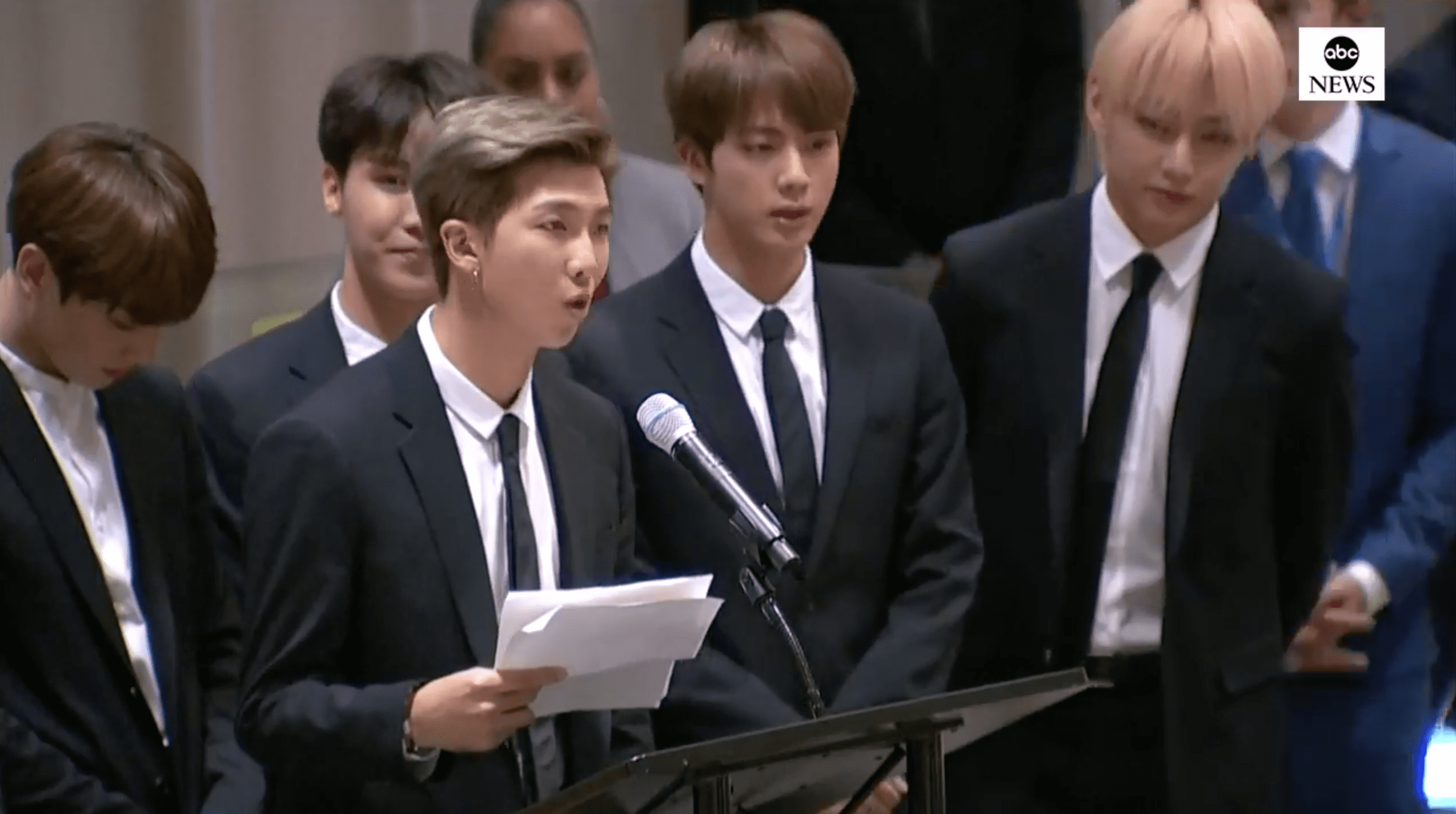 Bts Encourages Youth In Historic Speech At Launch Of Unicef S Generation Unlimited At The Un General Assembly Soompi