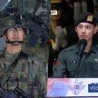 2PM's Taecyeon And ZE:A's Im Si Wan Spotted At Armed Forces Day Event