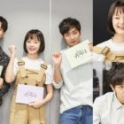Kim Ji Suk, Jun So Min, And Lee Sang Yeob Attend Script Reading For New Rom-Com