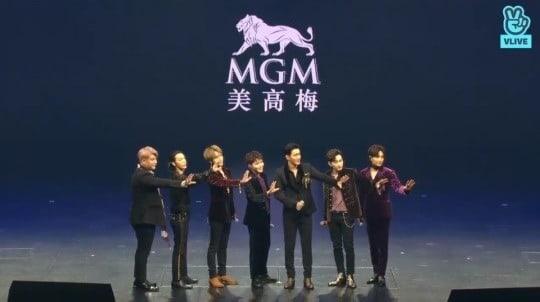 Super Junior showcase di Macau