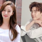 "Go Sung Hee Thanks Lee Jong Suk For Sending Gift To ""Ms Ma, Nemesis"" Set"