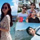 """Cast Of """"My ID Is Gangnam Beauty"""" Shares Fun Photos From Reward Vacation"""