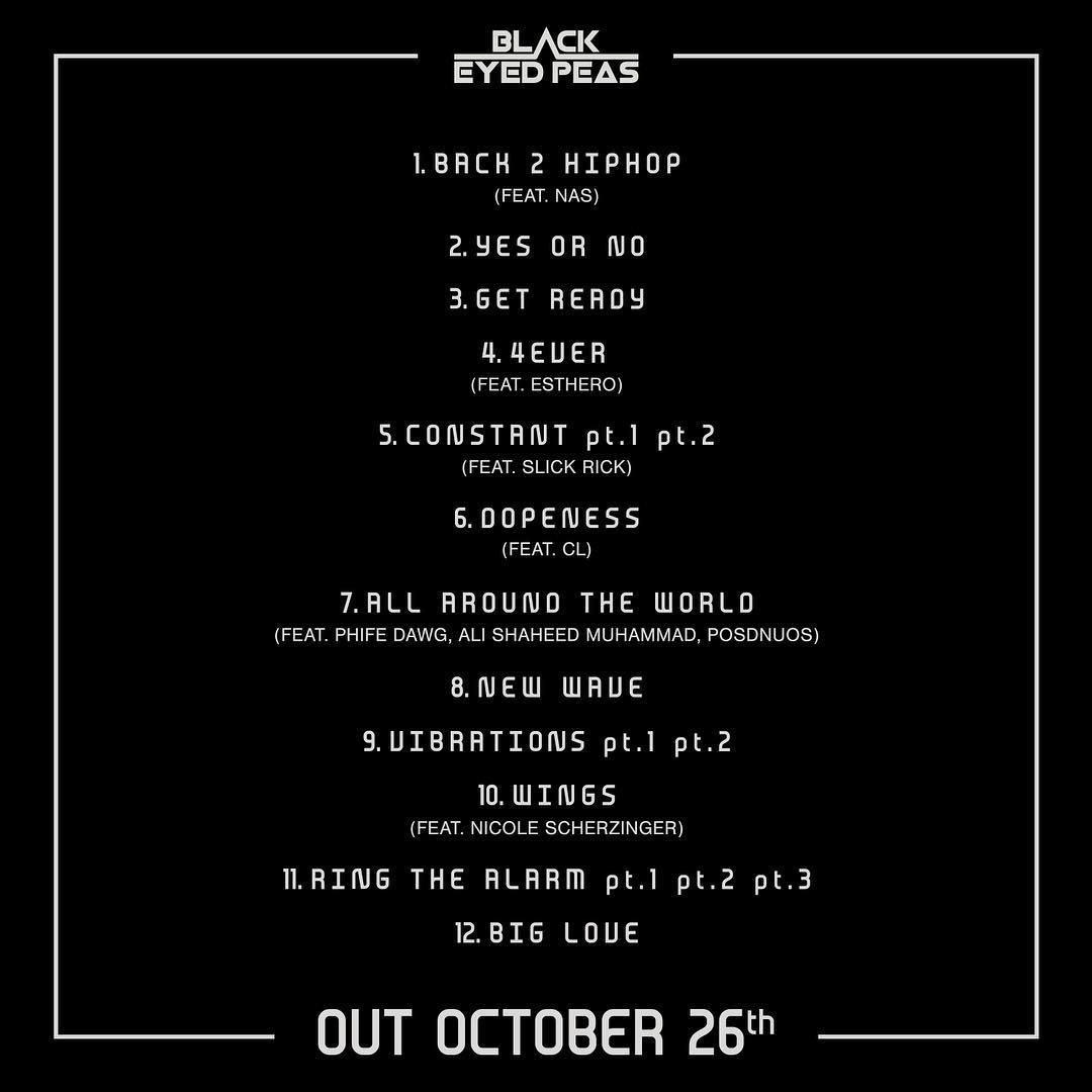 "CL  >> Single ""Post Up"" - Página 5 Black-Eyed-Peas-Track-List"
