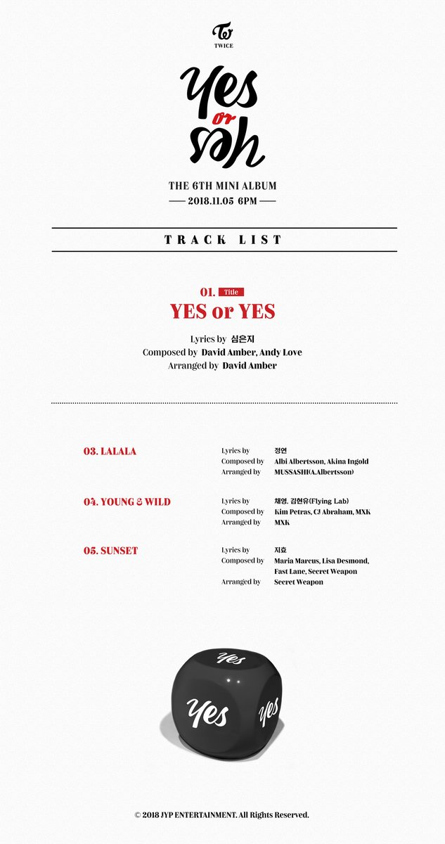 "Update: TWICE Unveils Highlight Medley For ""Yes Or Yes"" 