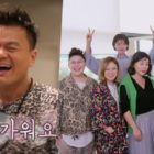 """Park Jin Young Gives """"Food Bless You"""" Cast A Tour Of JYP Entertainment Headquarters"""