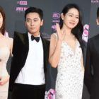 Stars Shine On The Red Carpet At The Seoul Awards