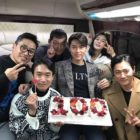 "Cast Of Sageuk Zombie Film ""Rampant"" Celebrates Reaching 1 Million Moviegoers"