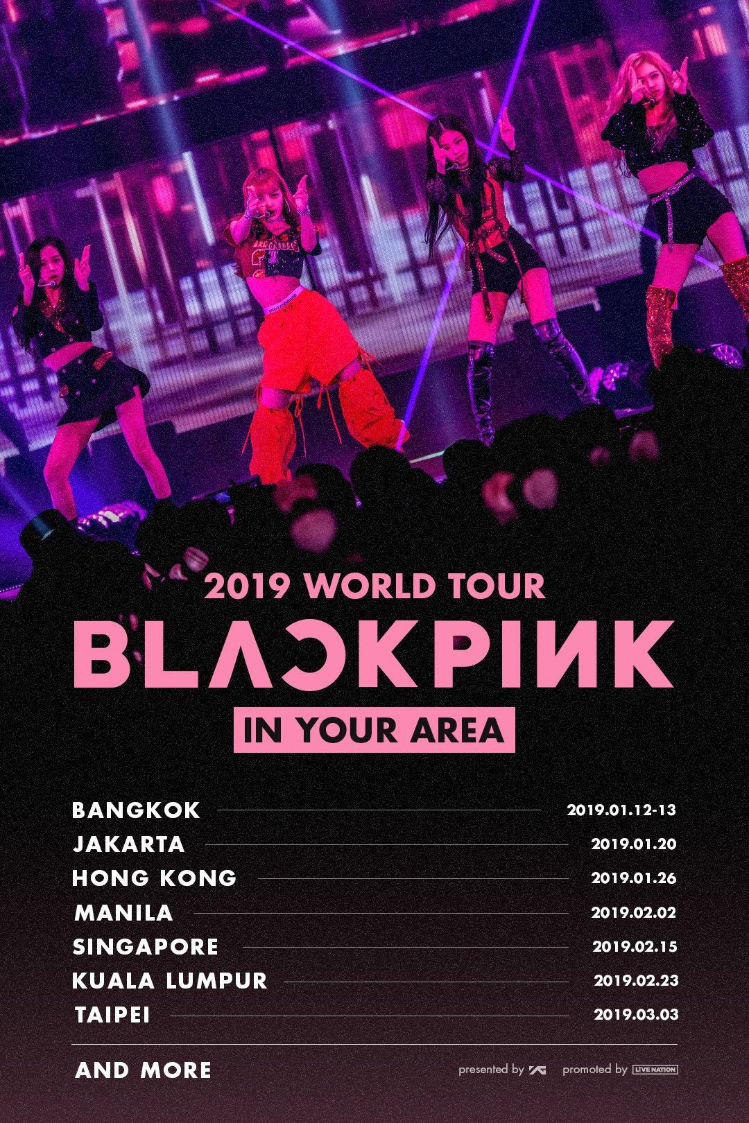 Indonesia menjadi salah satu negara yang akan dikunjungi oleh Blackpink dalam world tour-nya nih Teens (dok. YG Entertainment)