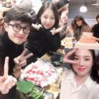 "Nam Ji Hyun And Han So Hee Share Cute Photos And Video From ""100 Days My Prince"" Wrap Party"