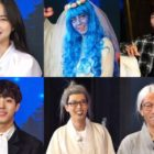 """Running Man"" Cast, Son Naeun, Ahn Hyo Seop, And Seo Young Hee Show Off Their Halloween Costumes"