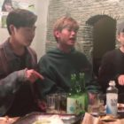 """Watch: Eric Nam And His Brothers Have A Blast Filming """"Tipsy Live"""" Version Of """"Miss You"""""""