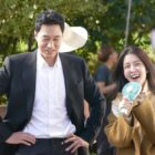 "So Ji Sub And Jung In Sun Have Fun Together In New ""Terius Behind Me"" Behind-The-Scenes Stills"