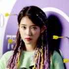 "IU Takes 7th Win For ""BBIBBI"" On ""Inkigayo"""